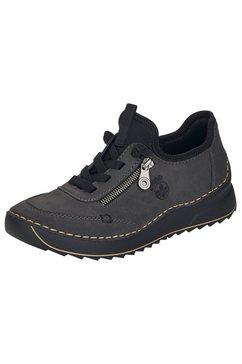 rieker sneakers met contrasterende stiksels grijs
