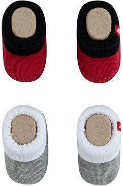levi's kidswear sokken (2 paar) rood