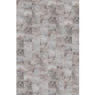 infloor tapijttegel »velour steinoptik marmor grau«, zelfklevend 25 x 100 cm grijs