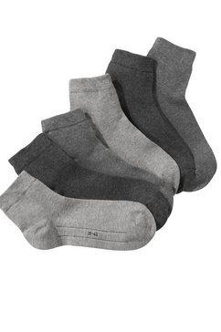 camano korte sokken (7 paar) grijs