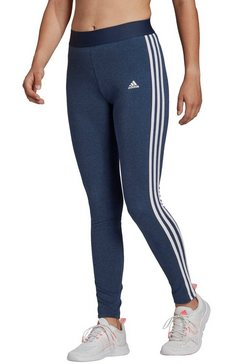 adidas performance legging »w 3 stripes leg« blauw