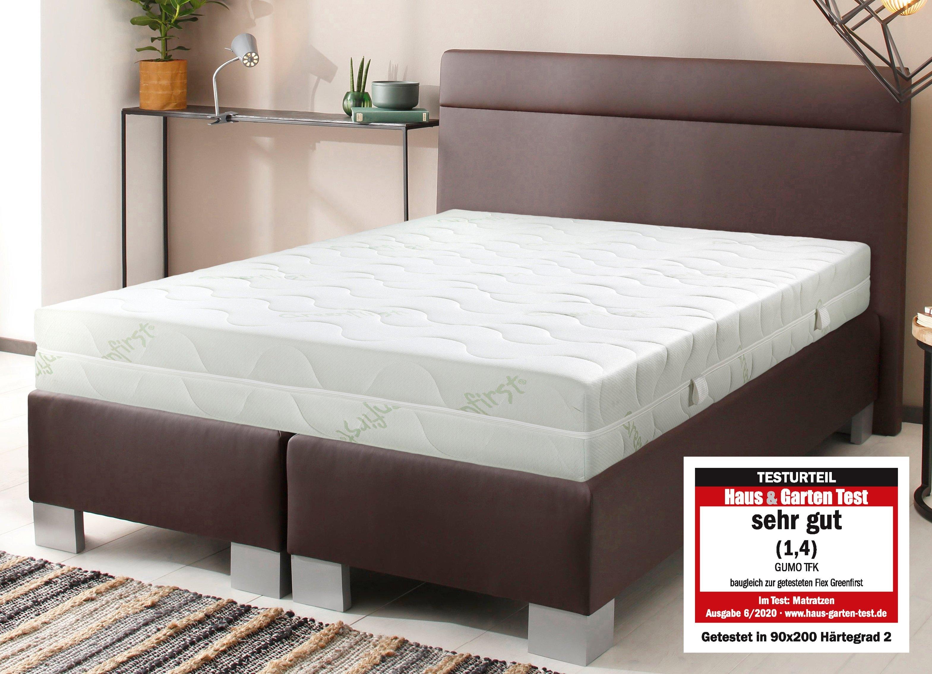 Beco EXCLUSIV pocketveringsmatras GUMO TFK Tweezijdig te gebruiken matras met twee verschillend stevige ligzijden hoogte 22 cm voordelig en veilig online kopen