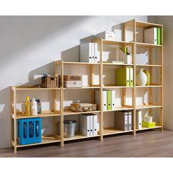 sz metall rek »multifunctionele houten open kast« 2014