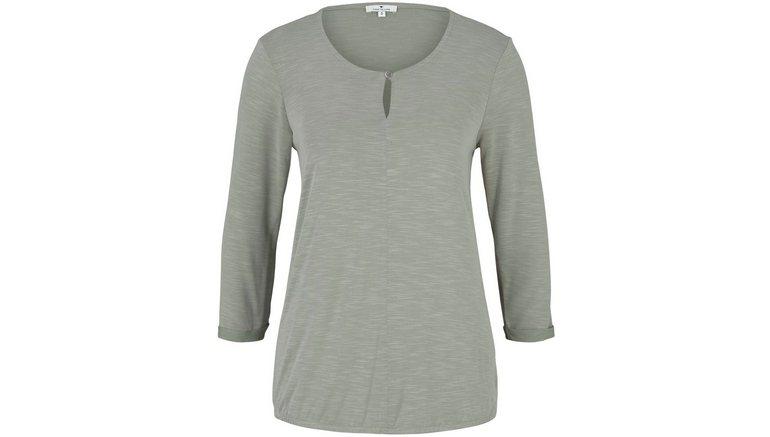 Tom Tailor shirt met 3/4-mouwen