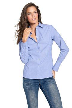 b.c. best connections by heine overhemdblouse blauw