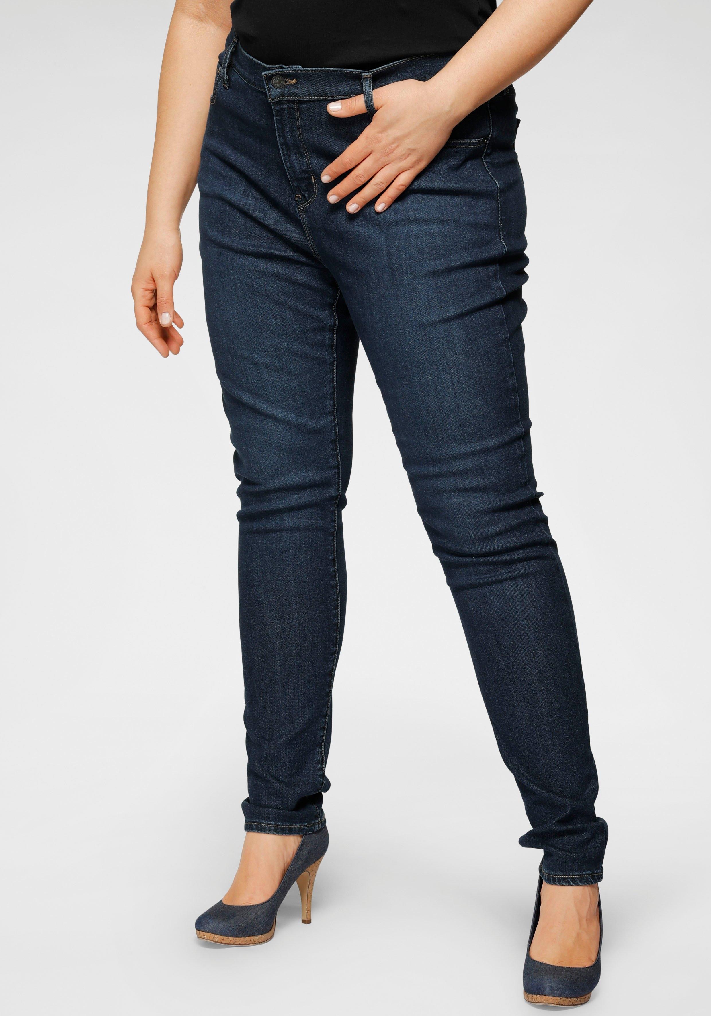 Levi's Plus Levi's® Plus skinny fit jeans 721 High-Rise met hoge band nu online bestellen