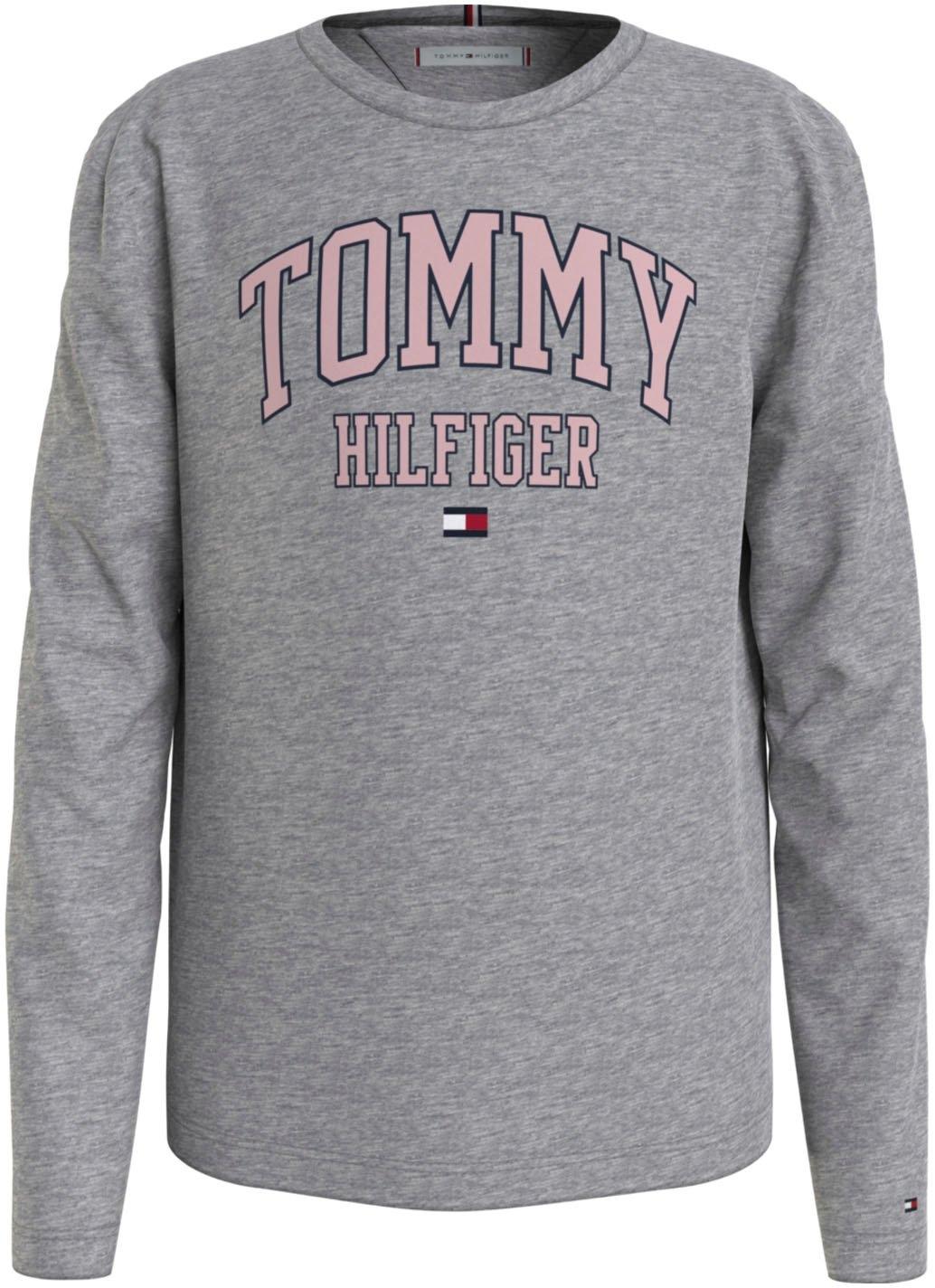 Tommy Hilfiger Shirt met lange mouwen TH TEE L/S in de webshop van OTTO kopen