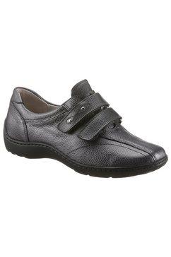 waldlaeufer klittenbandschoenen henni met klittenbandsluitingen, wijdte h grijs