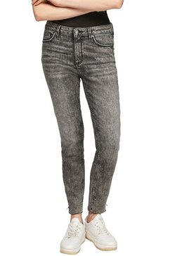 q-s designed by skinny fit jeans »sadie mr ankle« grijs