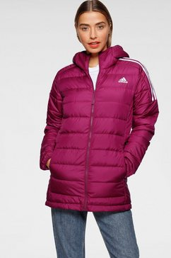 adidas performance functionele parka »w essential down parka« paars
