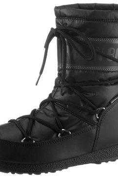 moonboot snowboots »moon boot mid nylon wp« zwart