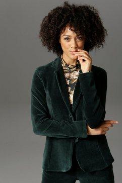 aniston casual jasje met reverskraag groen