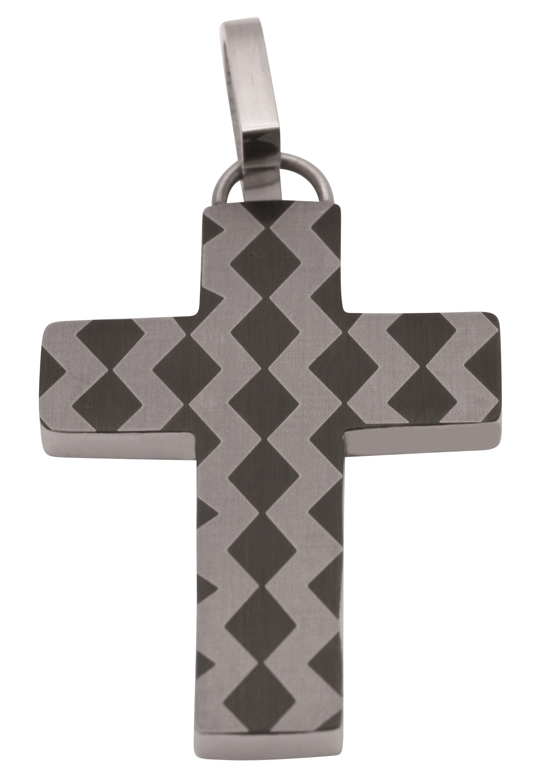 Firetti kruishanger »Religiöser Anhänger, teilweise IP-beschichtet, Glanz, matt, massiv« bij OTTO online kopen