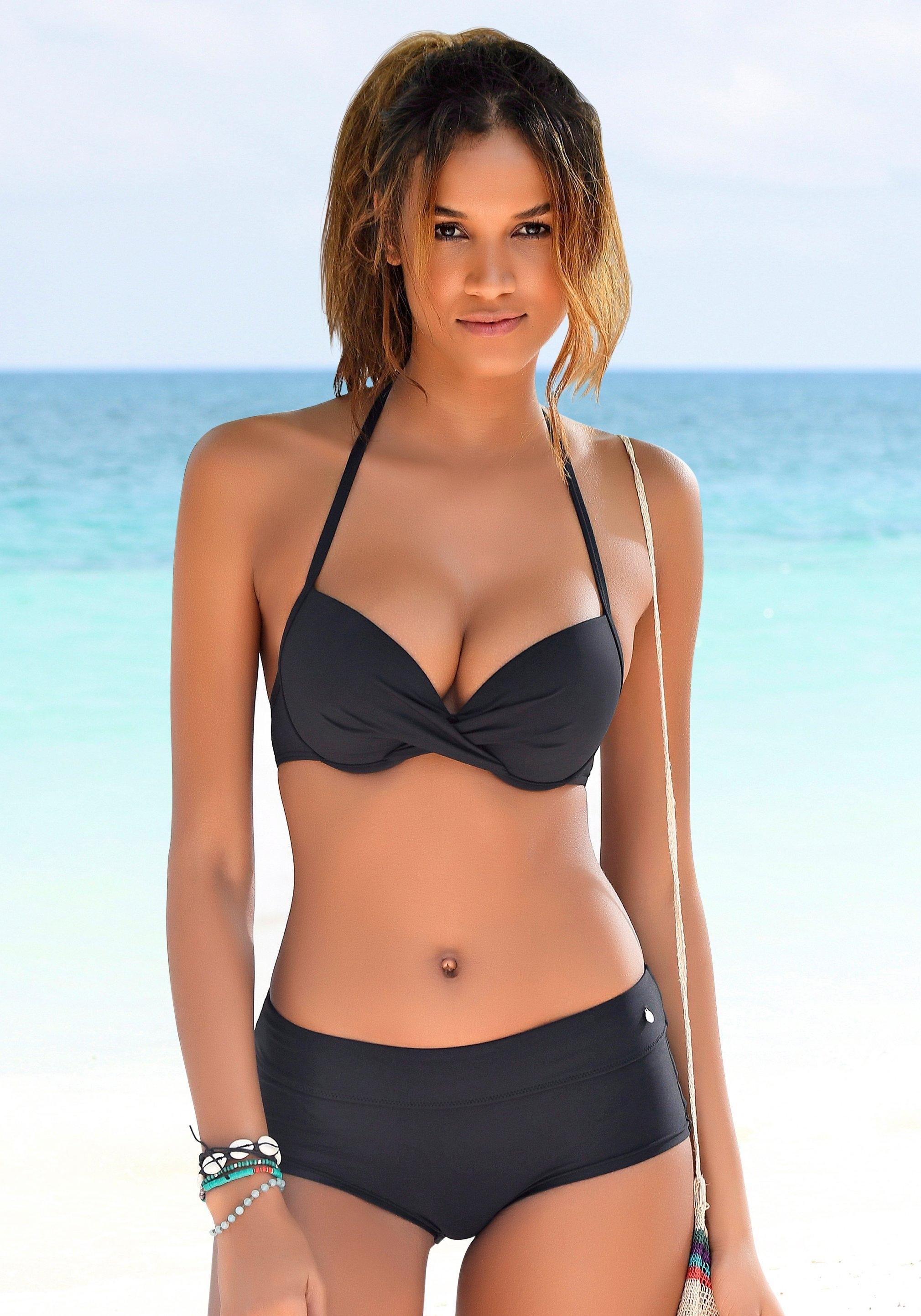 s.Oliver RED LABEL Beachwear Bikini-hotpants »Spain« bij OTTO online kopen