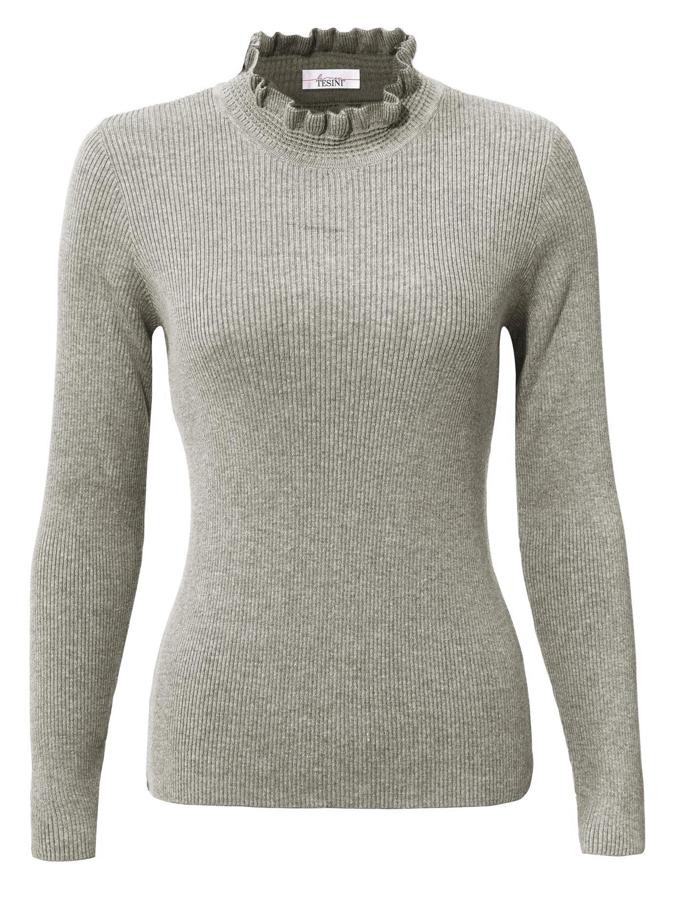LINEA TESINI by Heine trui met staande kraag Trui met opstaande kraag veilig op otto.nl kopen