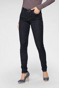 levi's skinny fit jeans »710 super skinny« blauw