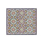 wall-art kookplaatdeksel artprint op glas orintaalse wandtegels (1-delig) multicolor
