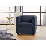 looks by wolfgang joop fauteuil blauw