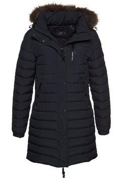 superdry outdoorjack »super fuji jacket« blauw