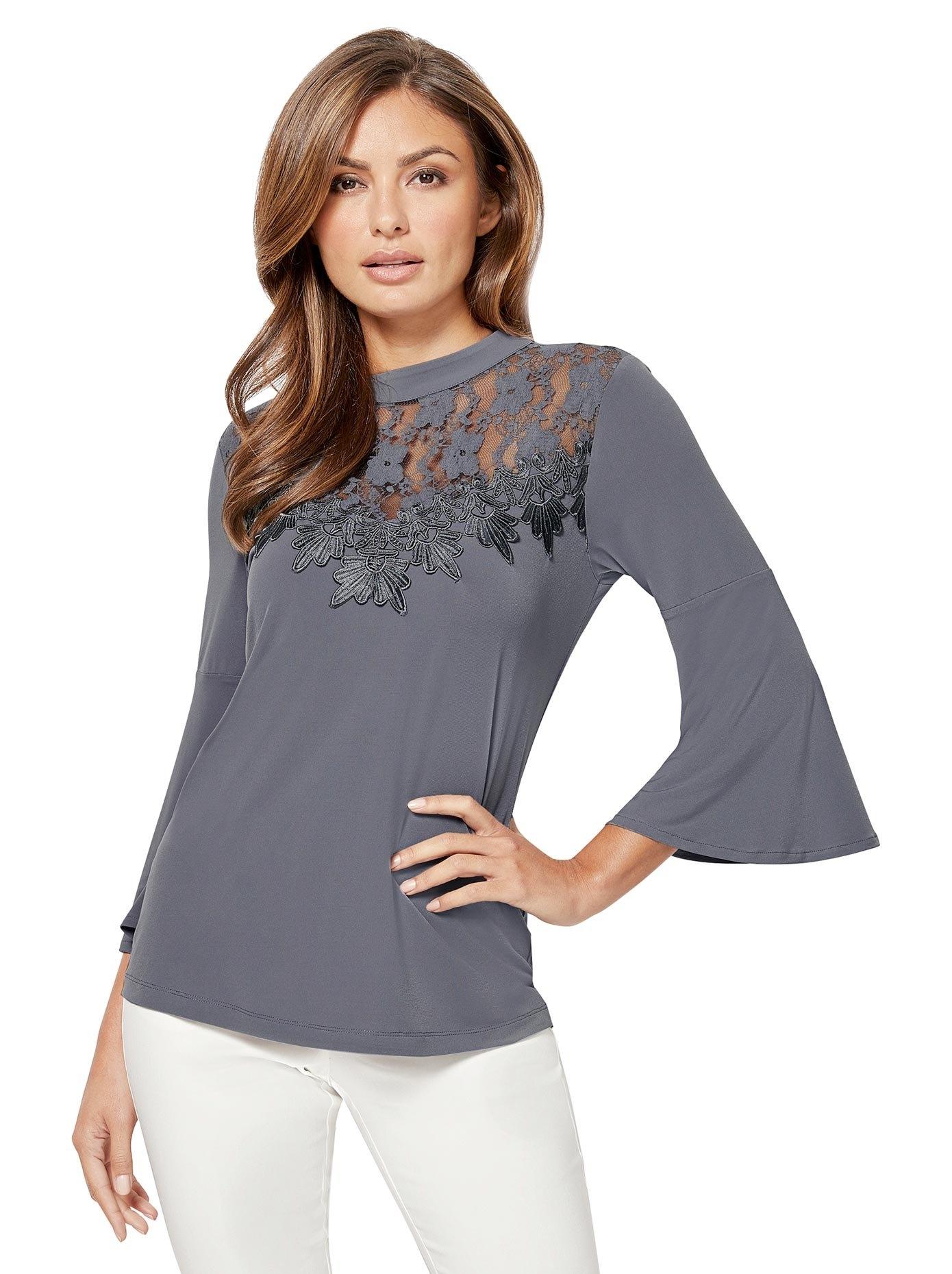 Lady kanten shirt nu online bestellen