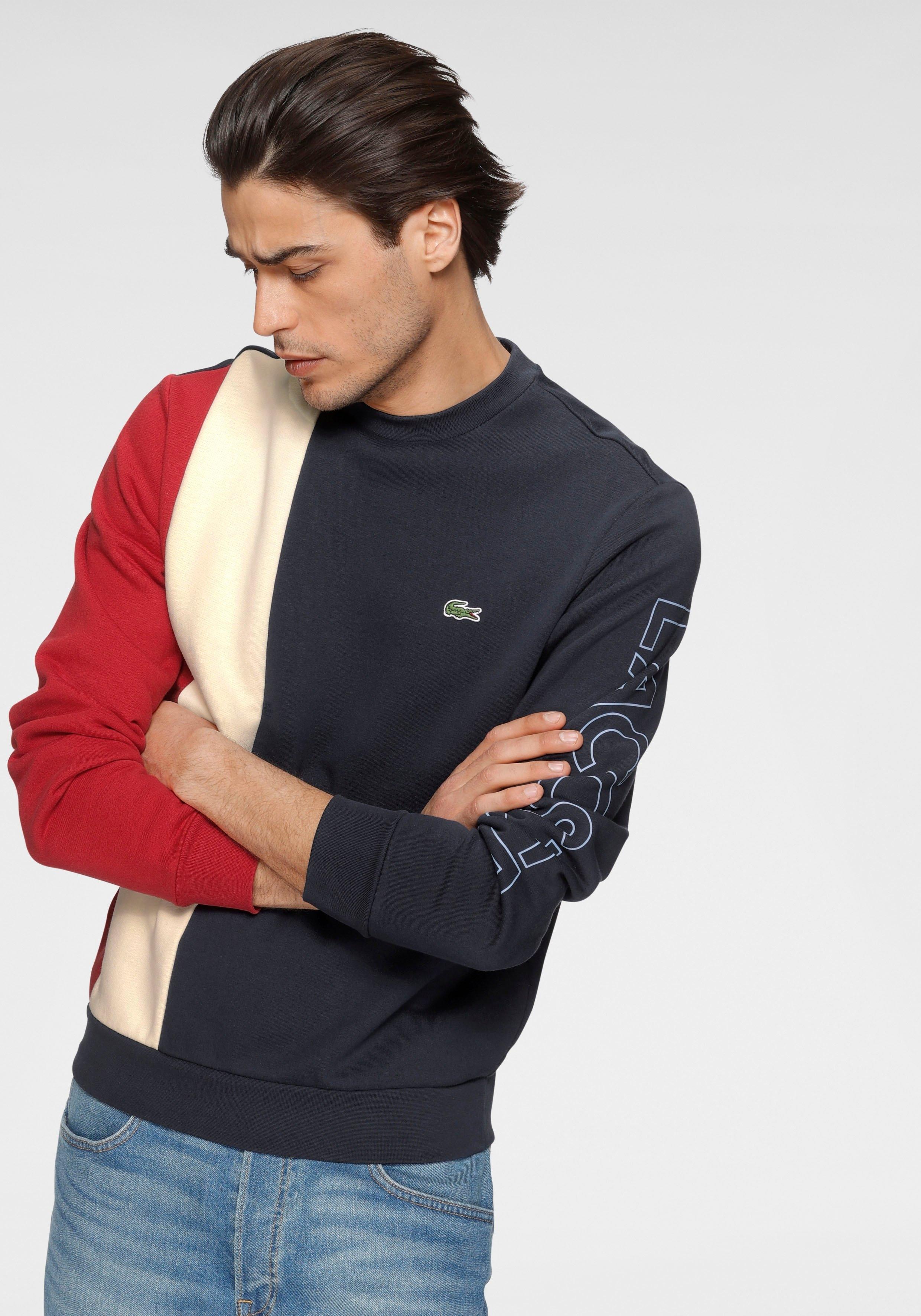 Lacoste sweatshirt Colourblocking goedkoop op otto.nl kopen