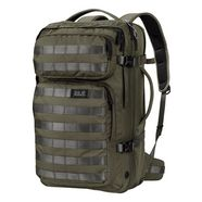 jack wolfskin kofferrugzak »trt 32 pack« groen