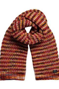 superdry gebreide sjaal oranje