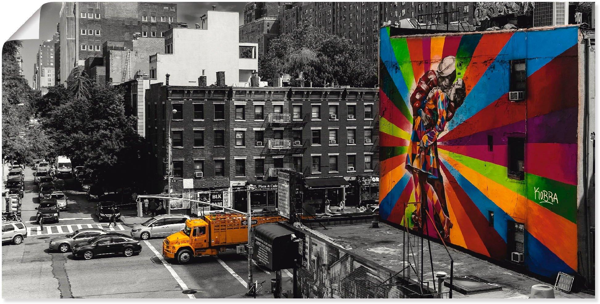 Artland artprint »New York Chelsea von oben« online kopen op otto.nl