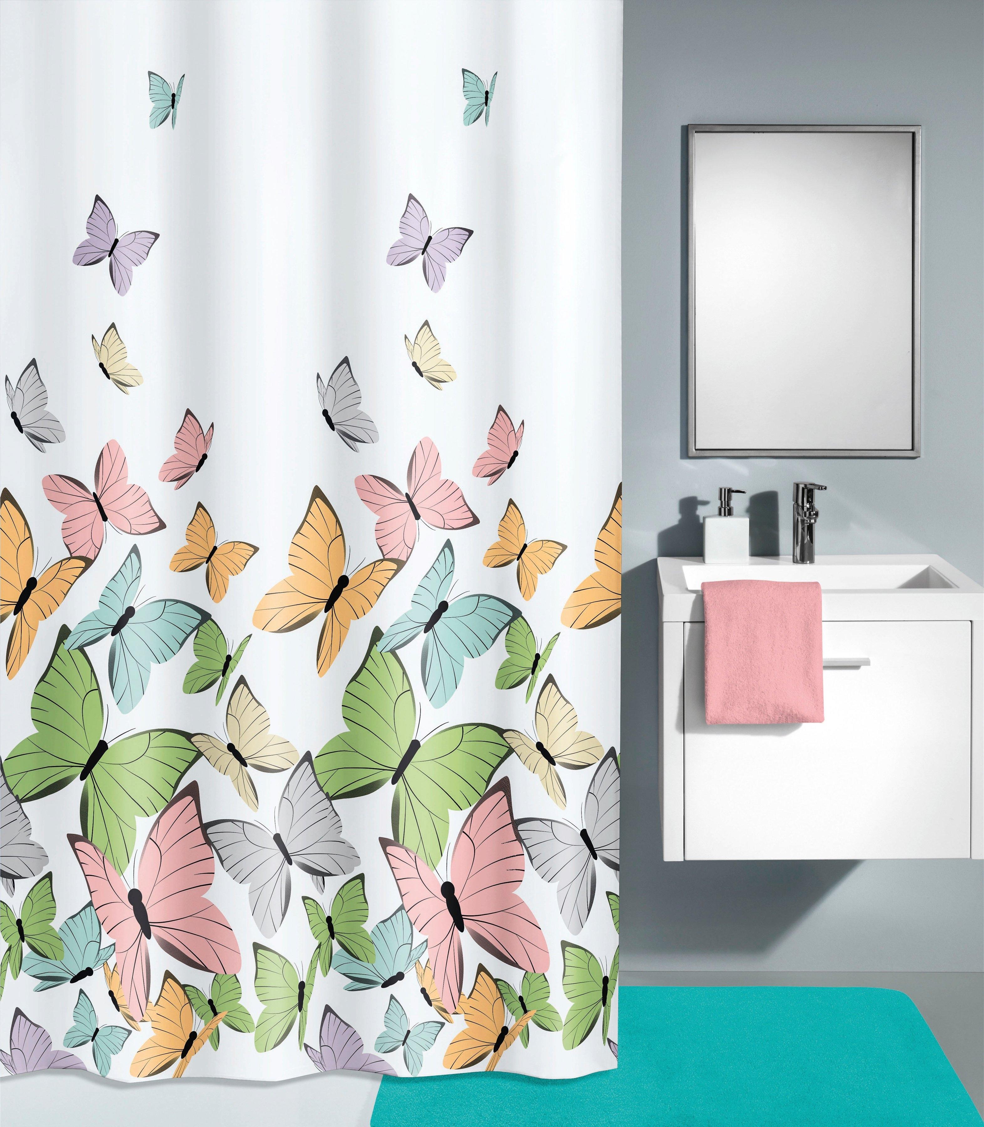Kleine Wolke douchegordijn Butterflies (1-delig) nu online bestellen