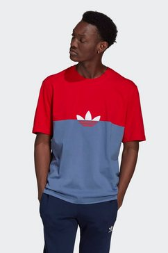 adidas originals t-shirt »slice trf box tee« blauw