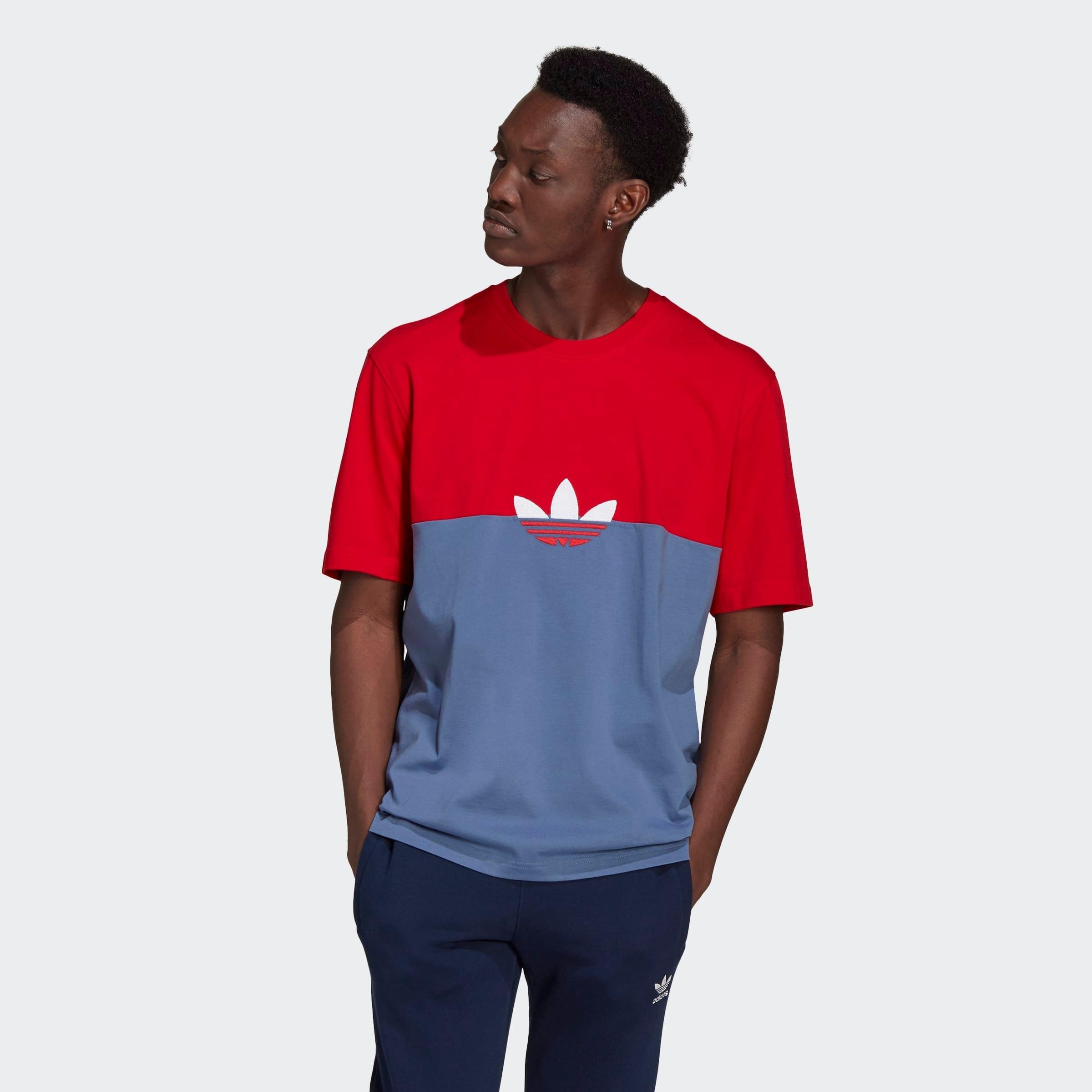 adidas Originals T-shirt SLICE TRF BOX TEE nu online kopen bij OTTO