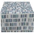 hossner - homecollection tafelloper kaunas (1 stuk) blauw
