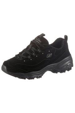 skechers sneakers d'lites play on met air cooled memory foam zwart