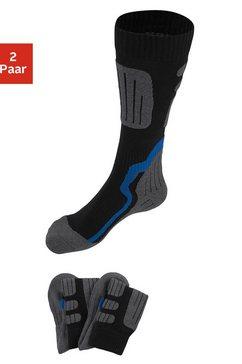 go in kniekousen ideaal voor de wintersport (2 paar) zwart