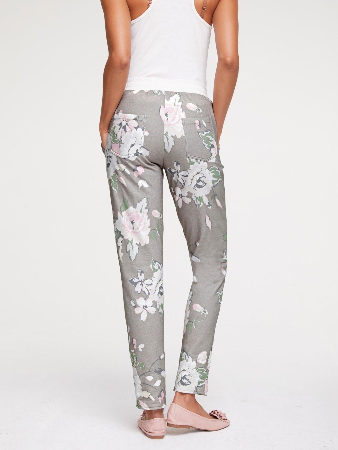 LINEA TESINI by Heine Joggingbroek met bloemenprint in de webshop van OTTO kopen