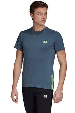 adidas performance functioneel shirt »men motion tee« blauw