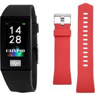 calypso watches smartime, k8500-6 smartwatch zwart