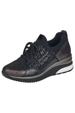 remonte sneakers met sleehak zwart