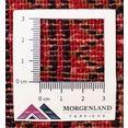 morgenland wollen kleed turkaman vloerkleed met de hand geknoopt rood rood