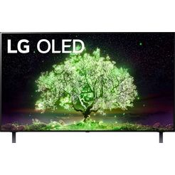 """lg oled-tv oled48a19la, 121 cm - 48 """", 4k ultra hd, smart-tv zwart"""