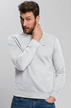 tommy jeans sweatshirt tjm regular fleece c neck grijs