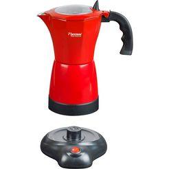 bestron espressoapparaat viva italia, 0,4 l rood