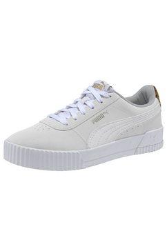 puma sneakers »carina leo« wit