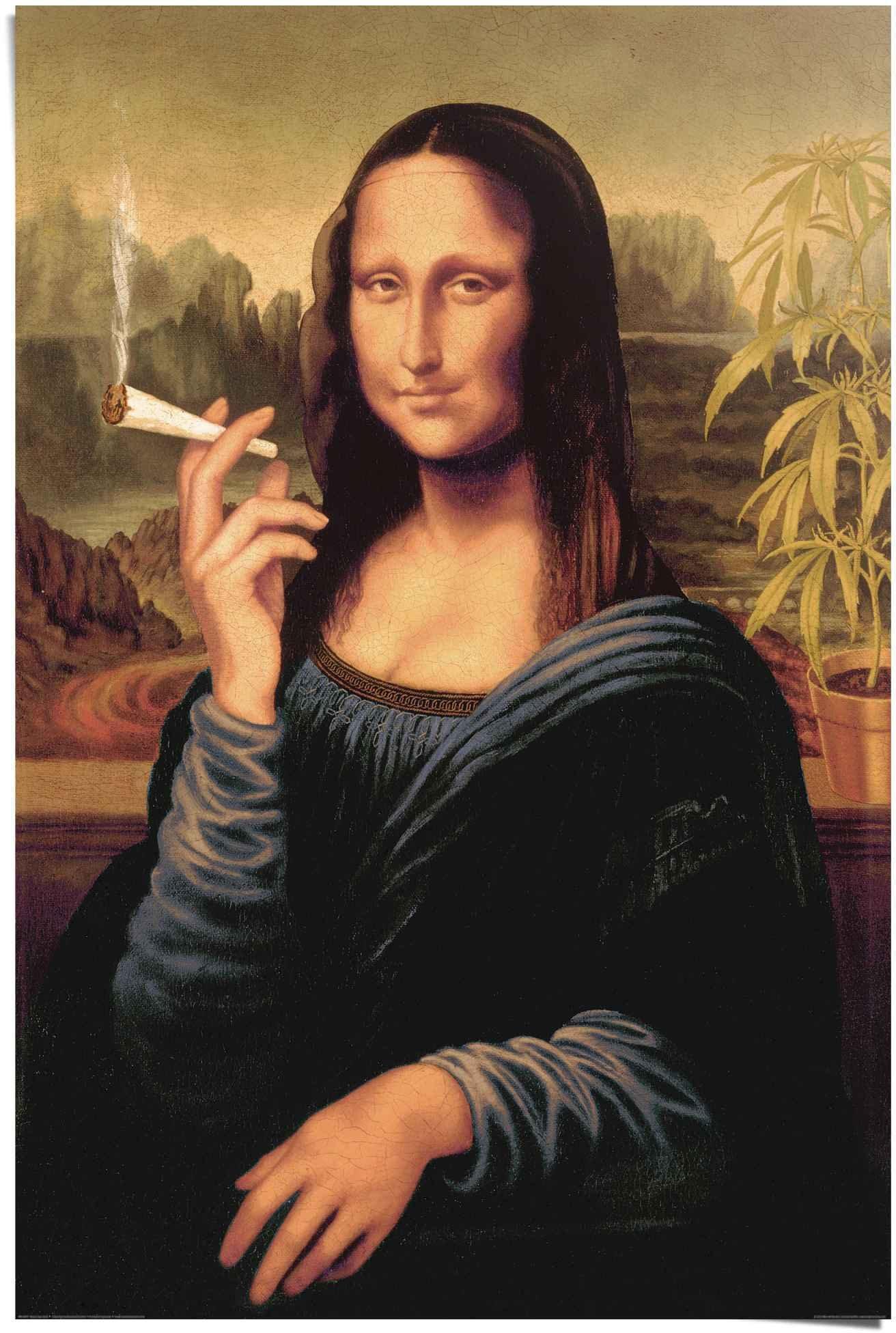 Reinders! poster Mona Lisa joint (1 stuk) voordelig en veilig online kopen