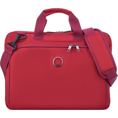 Delsey Esplanade Laptop Bag 1-CPT 15.6 Red
