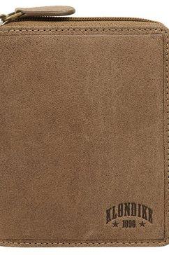 klondike 1896 portemonnee tweevoudig inklapbaar (1-delig) bruin