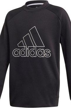 adidas performance sweatshirt »boys training sweat crew« zwart
