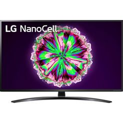 lg »65nano796ne« led-tv zwart