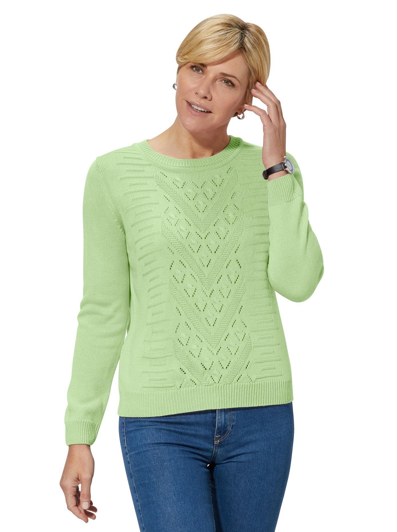 Classic Basics trui met ronde hals Trui voordelig en veilig online kopen
