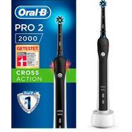 oral b elektrische tandenborstel pro 2 2000 black edition cross action zwart